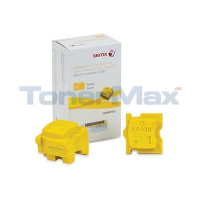 XEROX COLORQUBE 8700 SOLID INK YELLOW